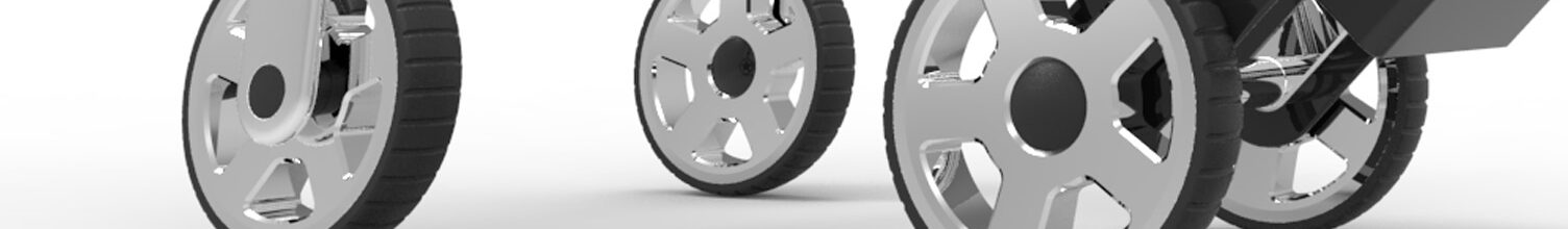 wheels golf cart